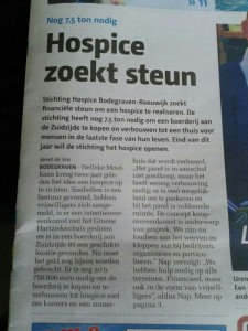 Bodegraafse Courant 5 april 2013